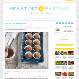 Feasting Not Fasting